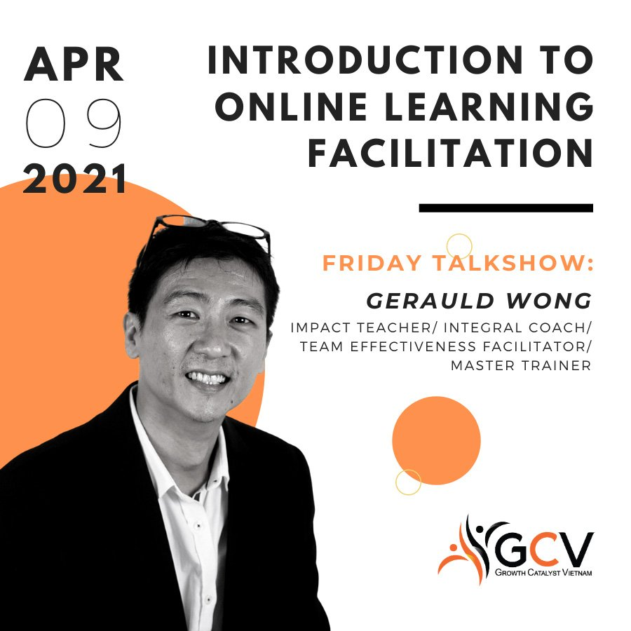 FRIDAY TALKSHOW 09/04/2021: INTRODUCTION TO ONLINE FACILITATION